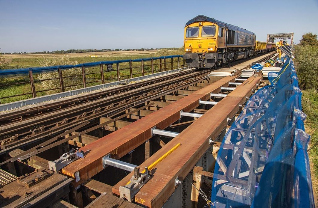 Network Rail return to deliver upgrades between Ely and Peterborough: ManeaBridge1-2