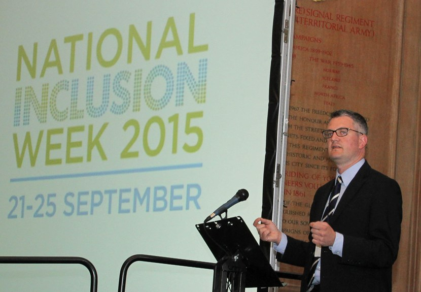 National Inclusion Week launched at Leeds Civic Hall : cllrjameslewis2.jpg