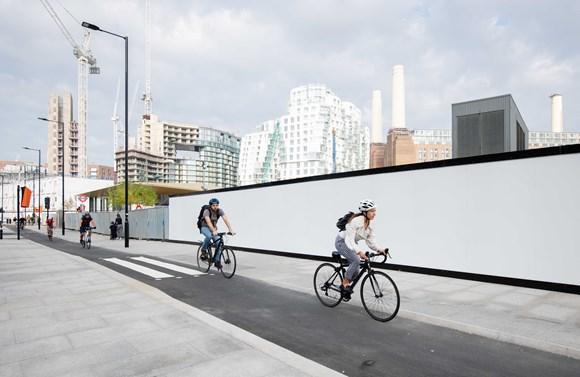 Tfl Image - Nine Elms - Cyclists