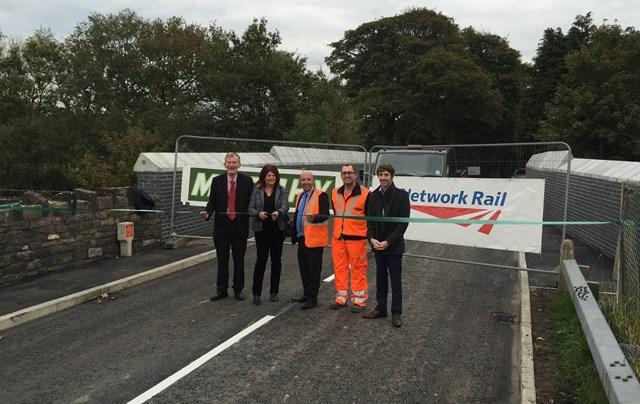 Grimeford Lane bridge reopening