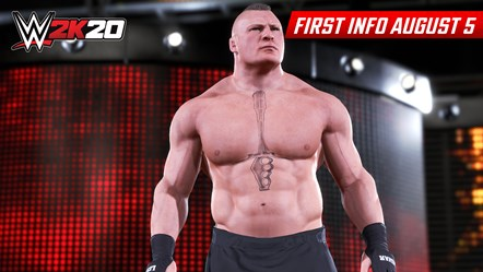 Check Out the First WWE® 2K20 Screenshots: WWE2K20 First Look Brock Lesnar