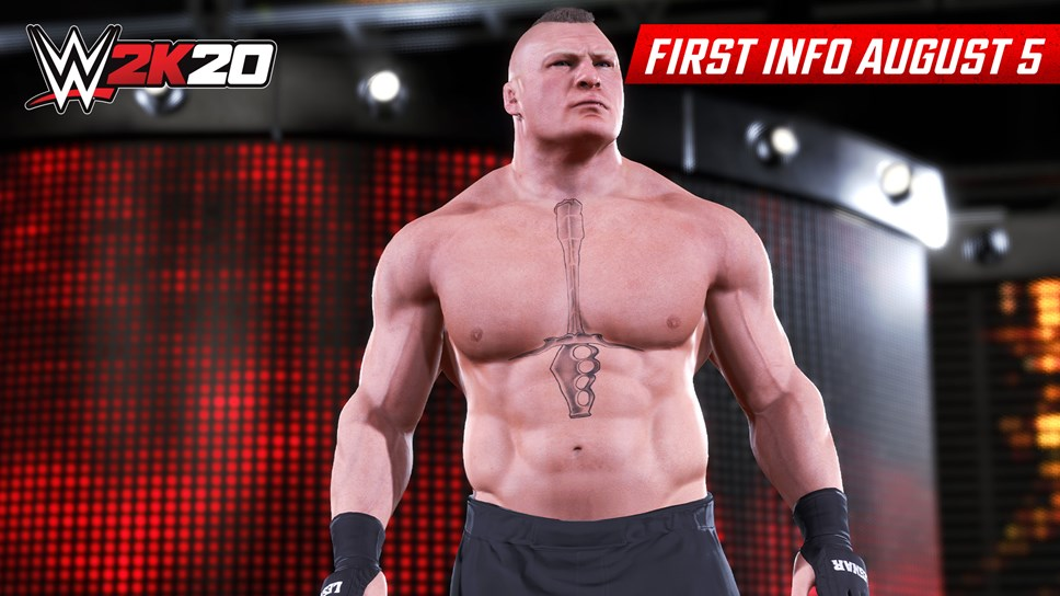 Check Out the First WWE 2K20 Screenshots: WWE2K20 First Look Brock Lesnar