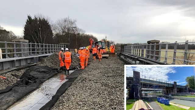 More reliable journeys after major £1.4m Merseyside railway upgrade: Rainford bypass composite
