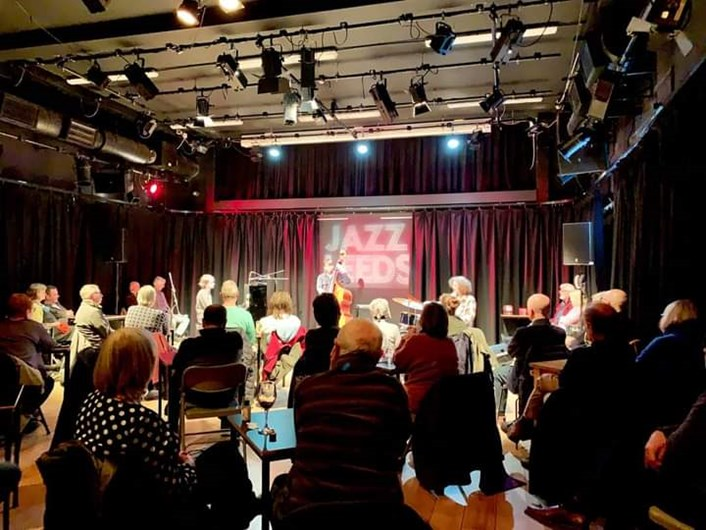 Jazz Leeds: The Fergus McCreadie Trio at Seven Arts - one of the few international jazz concerts hosted by JazzLeeds last year