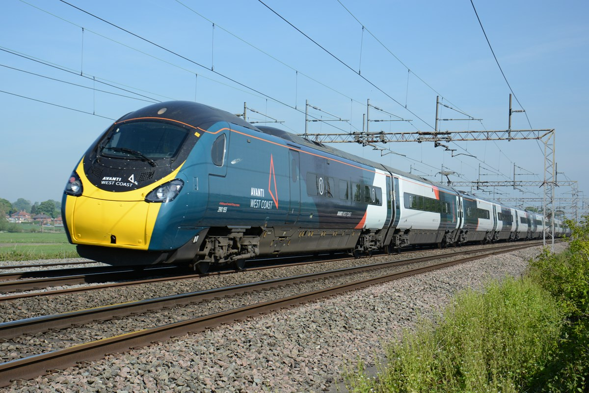 Avanti West Coast Pendolino