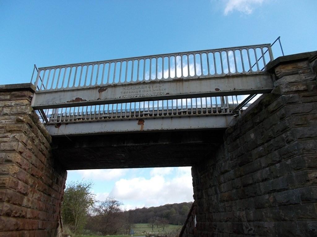 Historic beams to go Beamish: Lodge Lane bridge, Danby