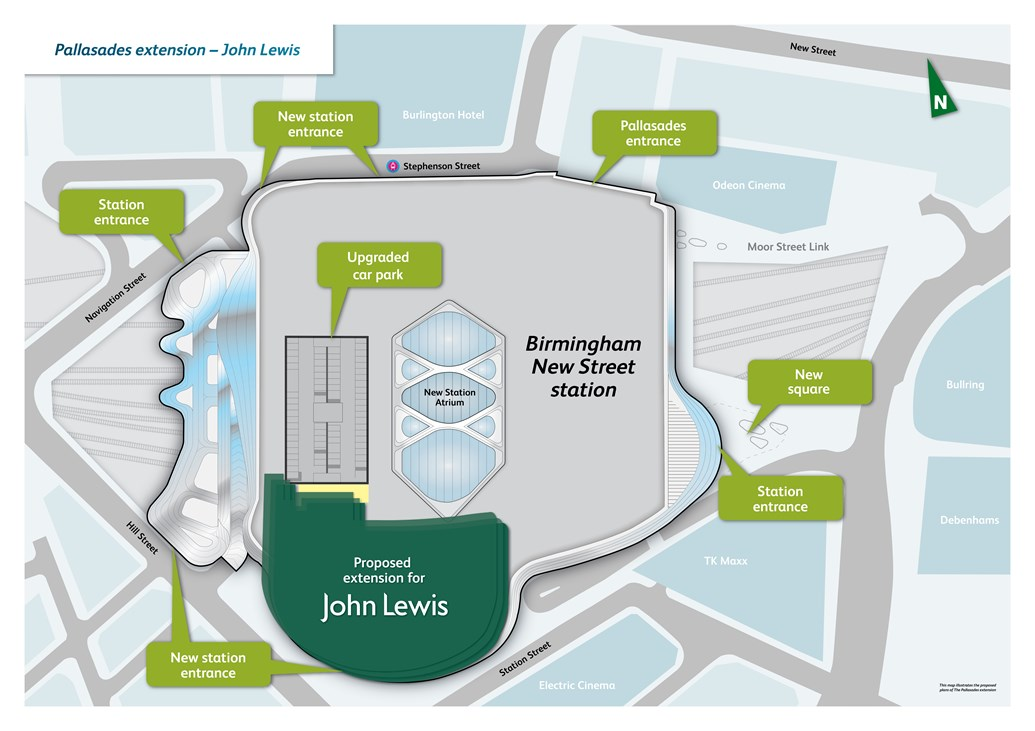 f55eaa3995 JOBS BOOST FOR BIRMINGHAM AS JOHN LEWIS COMES TO NEW STREET