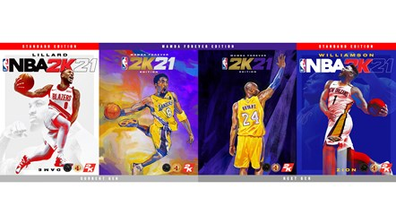 Everything is Game: Damian Lillard, Zion Williamson and Kobe Bryant are the Cover Athletes for NBA® 2K21: NBA 2K21 Cover Athletes