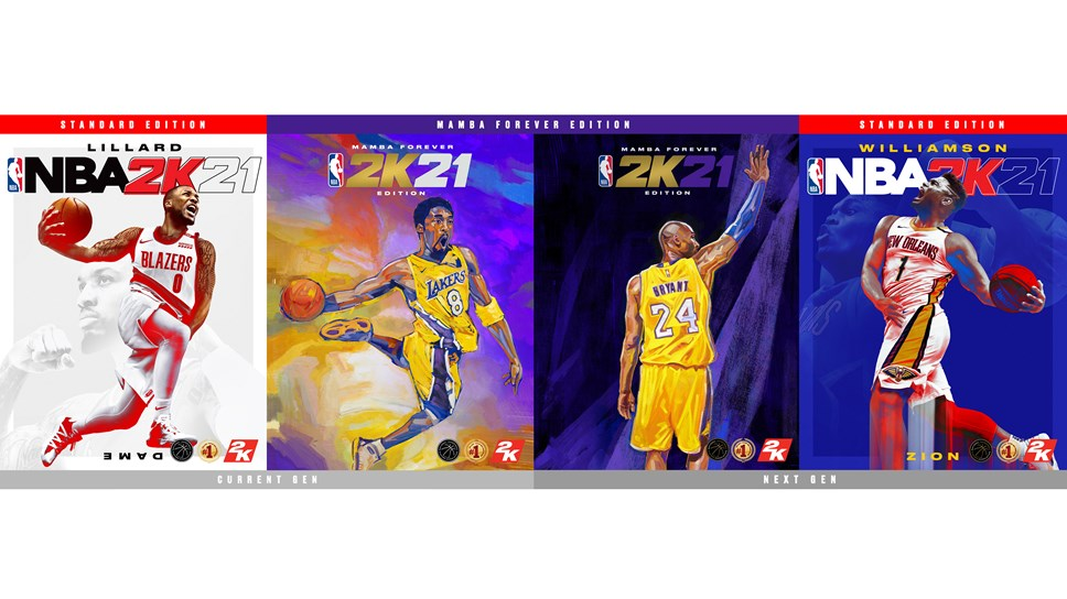 NBA 2K21 Cover Athletes