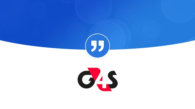 "G4S ""PRgloo makes our lives more efficient"": G4SQuote Testimonials Hero"