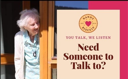 Nanny Biscuit - need someone to talk to cut version