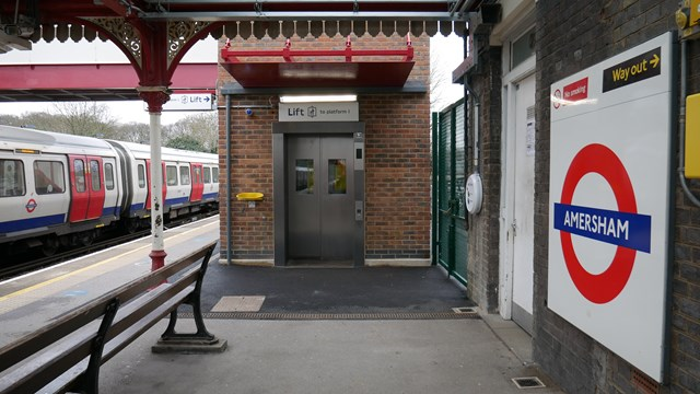 TfL Image - Lift, train and roundel