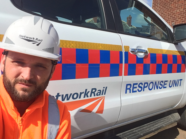 Network Rail worker from South Yorkshire helps keep railway running during Covid-19 pandemic: Gary Robinson, Network Rail