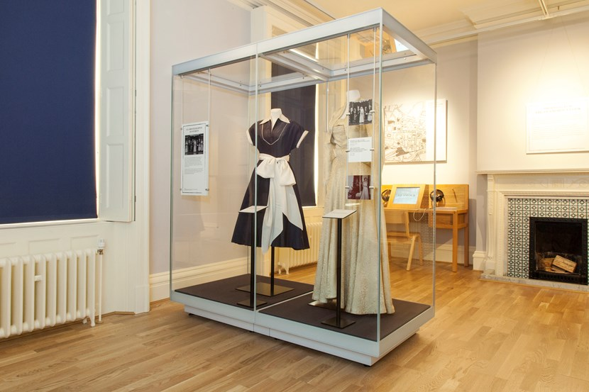 Leeds Museums and Galleries object of the week- vintage 50s wedding dress: dress.jpg