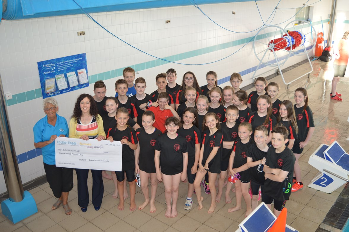 Bellshill Sharks swim club