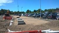 Staplehurst station car park set for £1.1 million expansion and upgrade: Staplehurst car park extension