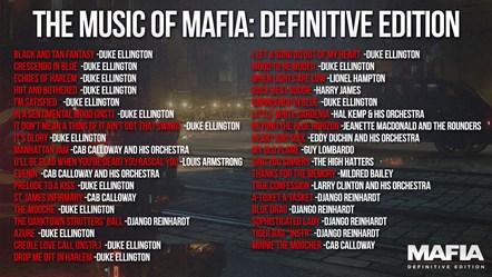 Mafia DE Track List