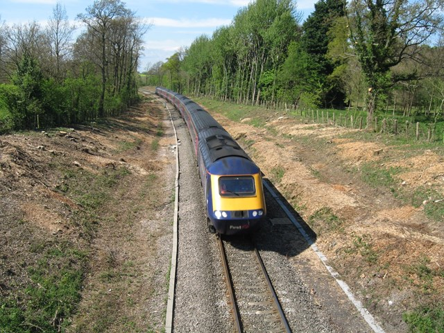 MORE ROOM FOR MORE TRACK ON NORTH COTSWOLD LINE: Cotswold line