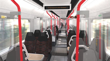 Class 230 interior: Artist's impression of what the trains could look like.