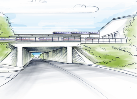 A wider Cow Lane Bridge