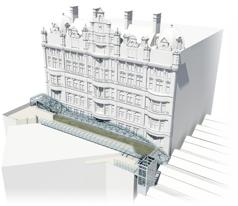 Waverley Steps and lift access - artist impressions_1