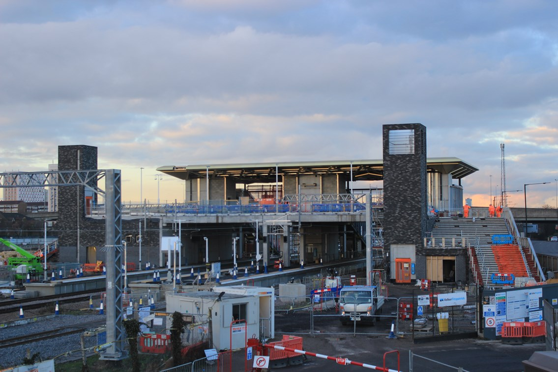 Work continues to increase train services along Lee Valley line: Meridian Water