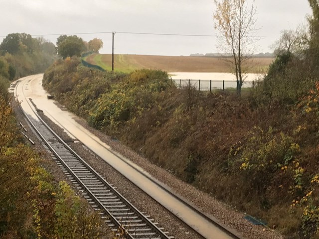 Passengers in Yorkshire warned of disruption to rail services following heavy rainfall: Flooding at Kiveton