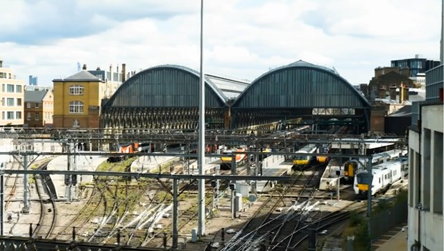 Reduced service on East Coast Main Line as work on major railway upgrade continues: Reduced service on East Coast Main Line as work on major railway upgrade continues
