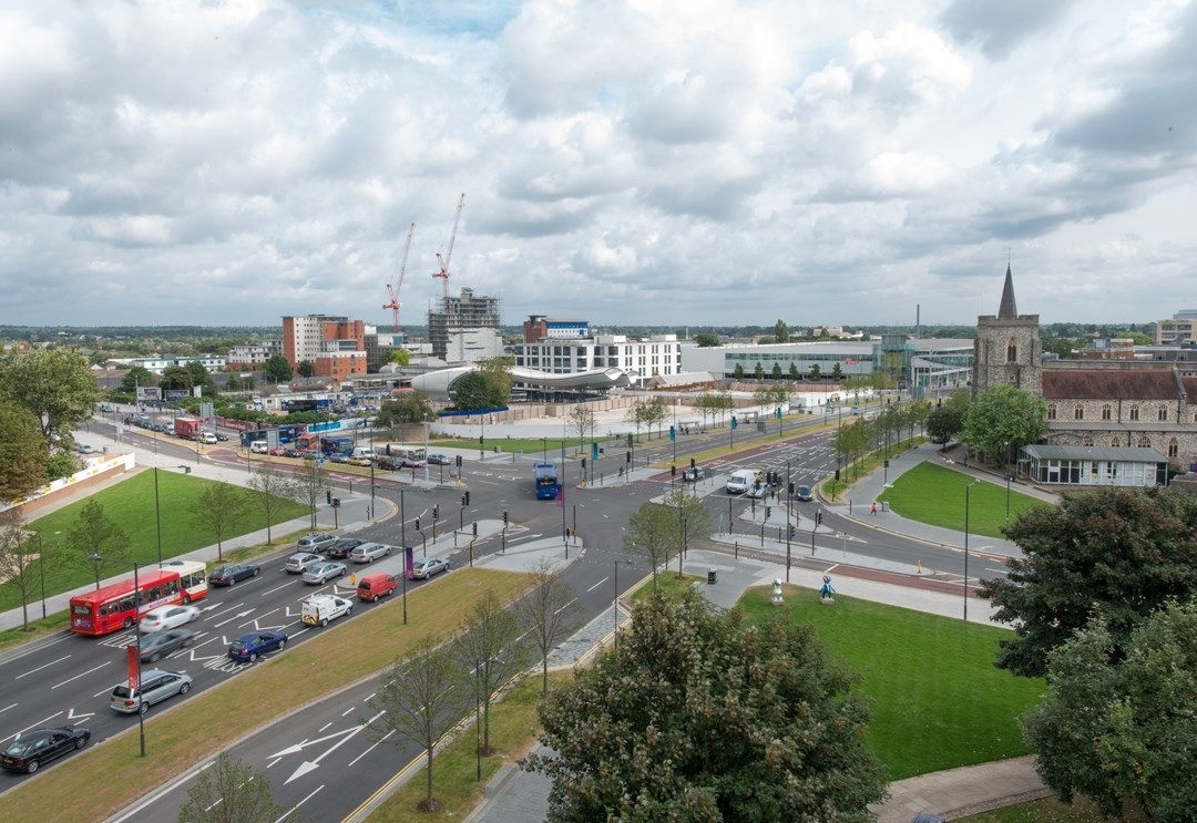 Heart of Slough selects wireless traffic detection from Siemens: wimag-heart-of-slough.jpg