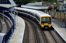 Train at Gravesend