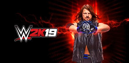WWE2K19 Art Standard Edition