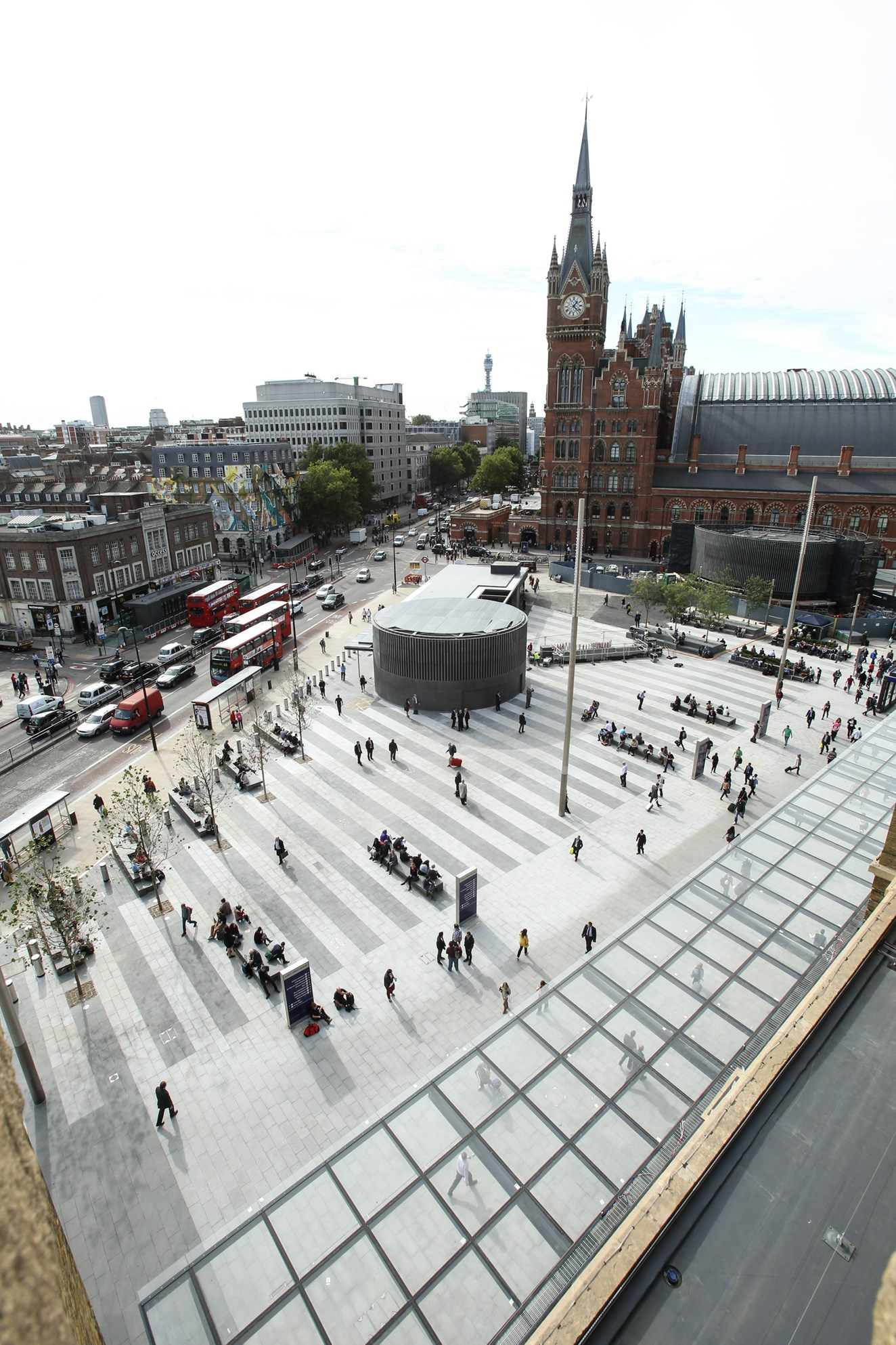 Start of a new chapter for King's Cross - London's newest public space is declared open: Launch of King's Cross Square