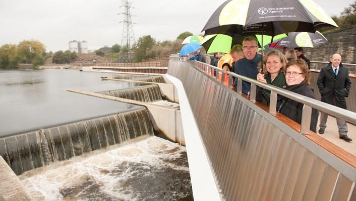 "Leeds City Council devises ""pragmatic two-step solution"" to provide enhanced flood protection: knostropbridgeandweir.jpg"