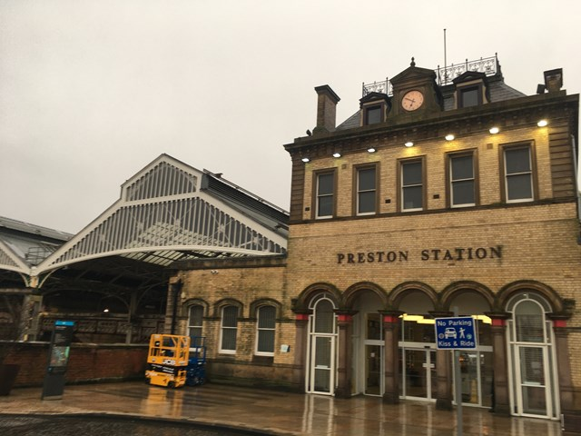 Preston station exterior 3