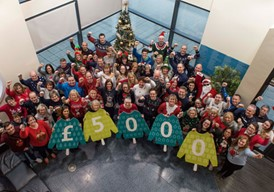 Arriva on-board again with Christmas Jumper Day: Arriva on-board again with Christmas Jumper Day