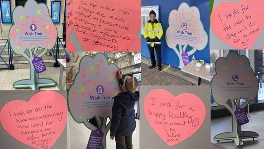 'Make a Wish' at Network Rail's Southern region stations to build hope after pandemic: Make A Wish tree Southern (1)