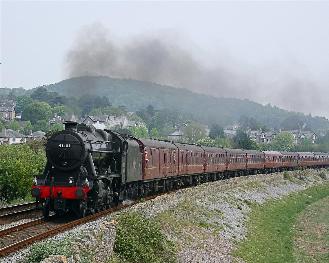 Steam Train - Phil Metcalfe