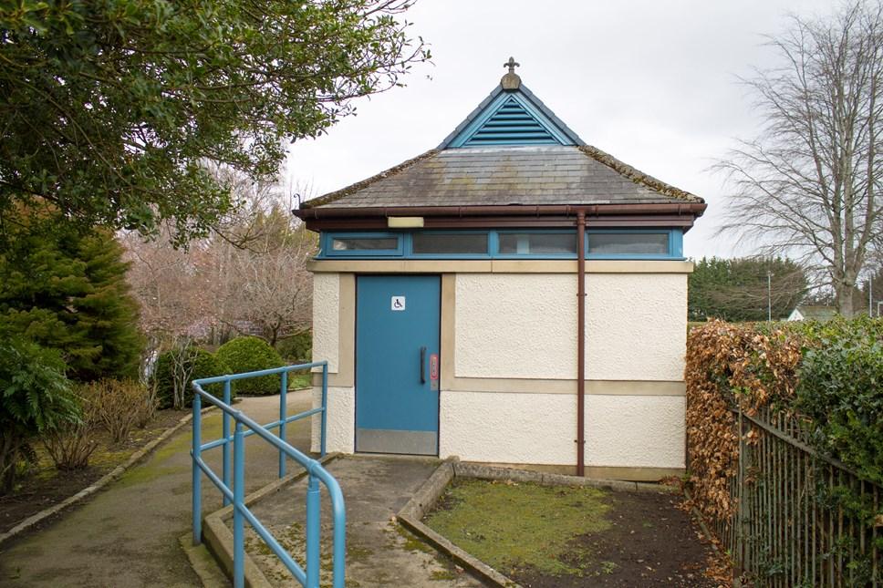 public toilet Moray