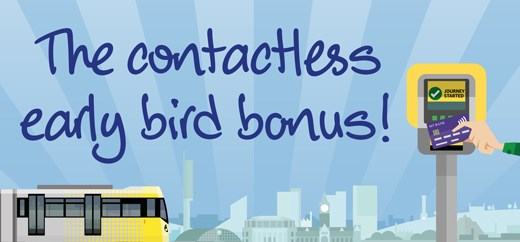 Mayor announces Metrolink early bird offer: Early-Bird-TfGM-campaign graphic