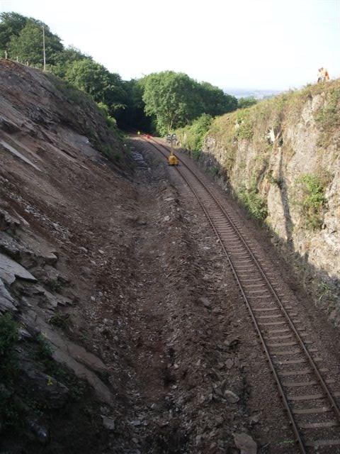 Gunnislake Branch line, Devon - portrait: Photograph taken 22.06.06