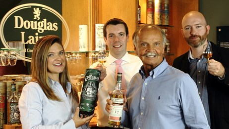 Family whisky firm goes from strength to strength: Cara Danny Fred Chris