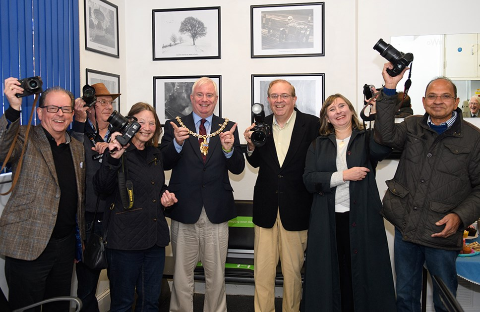Station Photography Exhibition to be opened by Mayor of Cheltenham