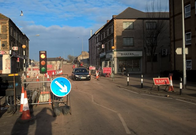 Second phase of upgrade work at Splott Road bridge completed on schedule: Splott Road Bridge Reopened-2