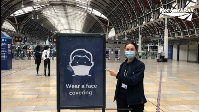 Help protect yourself and other passengers as new face covering rules introduced: Staff will also be wearing face coverings