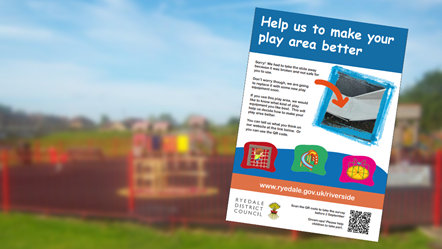 Equipment will be replaced at Riverside View Play Area