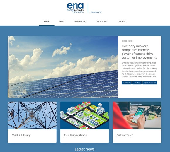 Energy Networks Association Newsroom