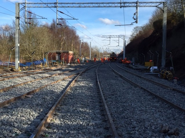 A more reliable railway between Birmingham and Wolverhampton as £5m upgrade completes on time: Galton Bridge Easter works daytime