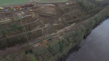 Aerial photographs of the damage at Farnley Haugh (2)