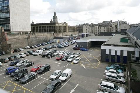 Glasgow Queen St - carpark