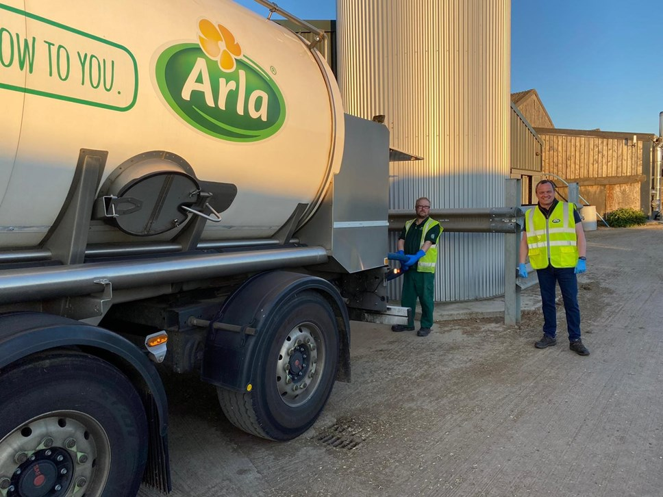 Arla reveals it has trained its farmer owners to provide a back-up option for milk collection during Covid-19 pandemic: graham training